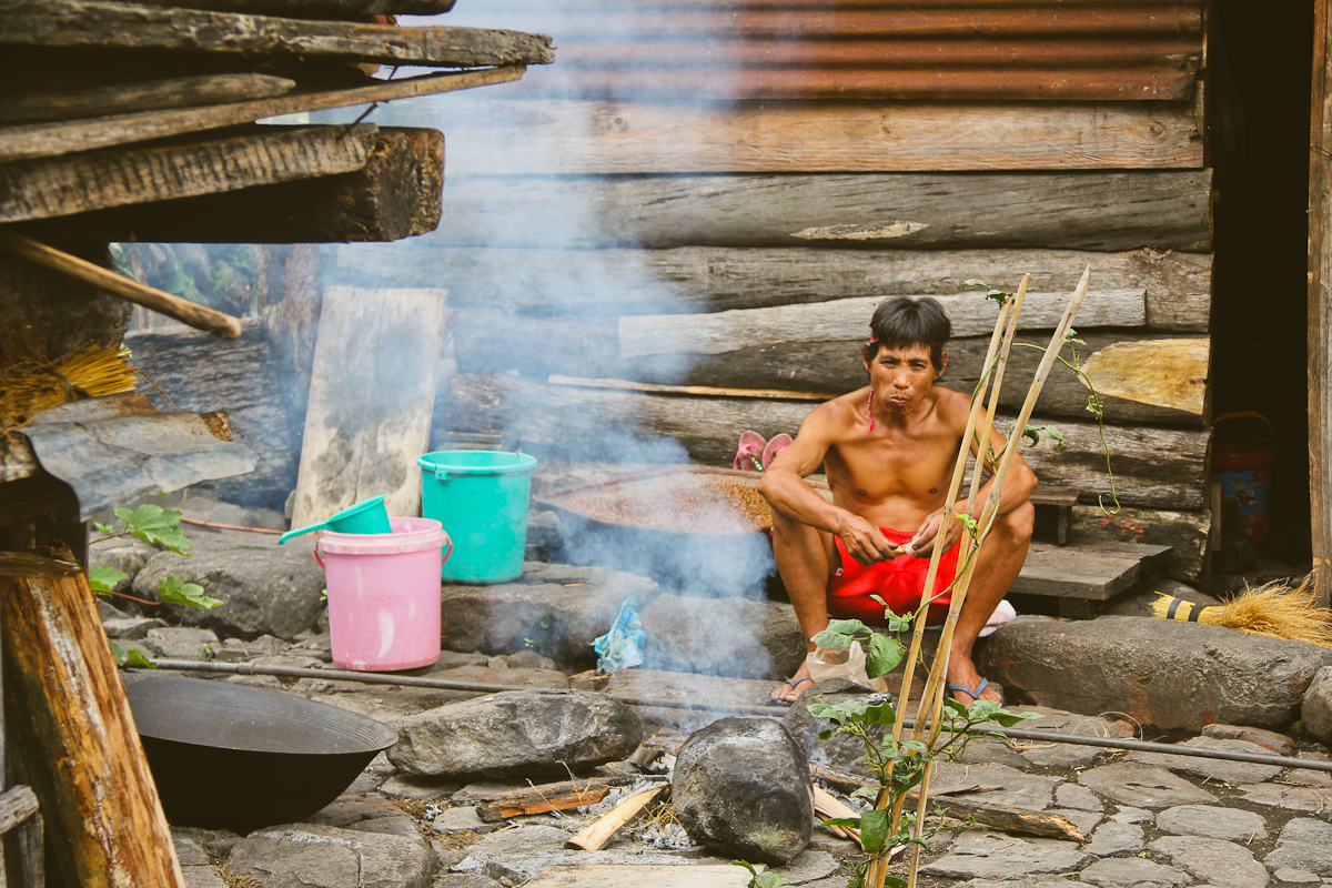 A village man of Batad