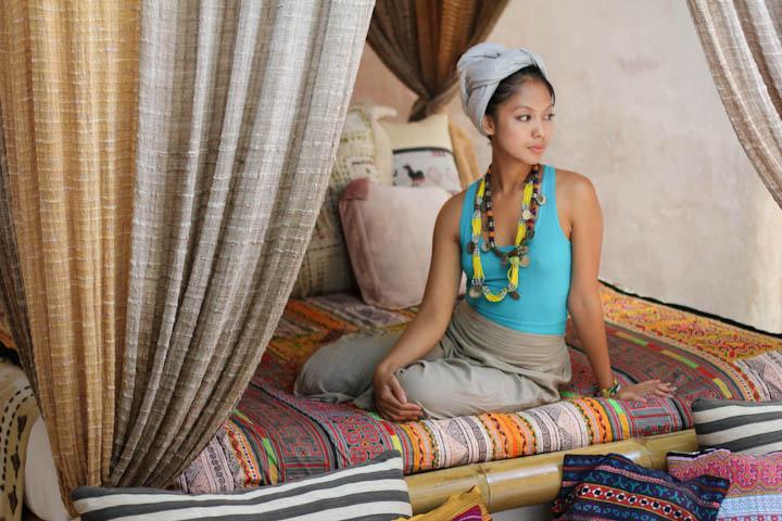 tribal bedroom