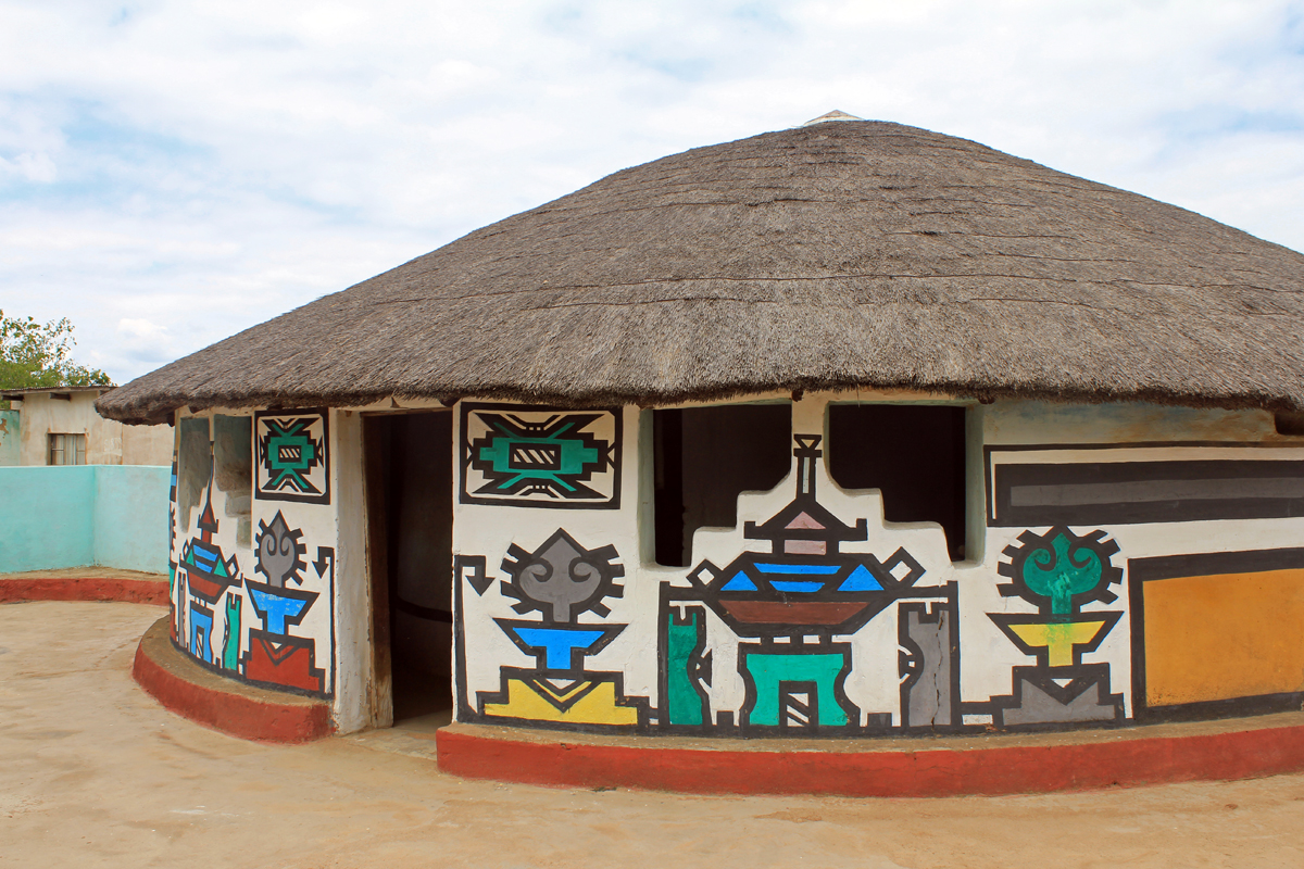 Inspired Geometry By Ndebele Tribe NEW CROP